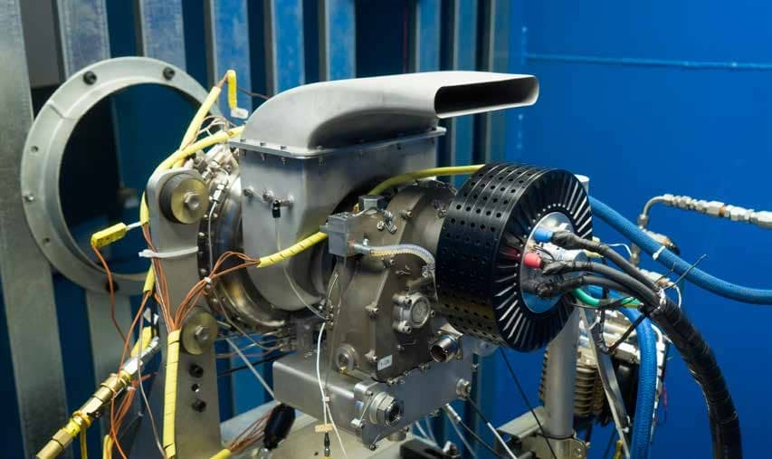 UAV Turbines Demonstrates its Microturbine Engine Operating with Environmentally Friendly Natural Gas