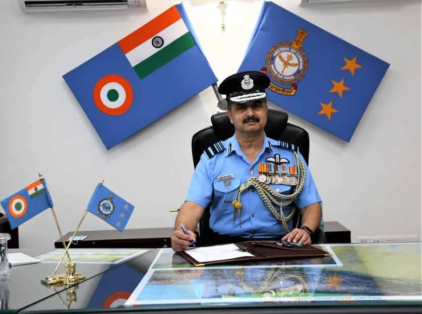 Air Marshal VR Chaudhari AVSM VM Assumes Command of Western Air Command