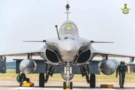 Induction Ceremony of Rafale Aircraft into Indian Air Force