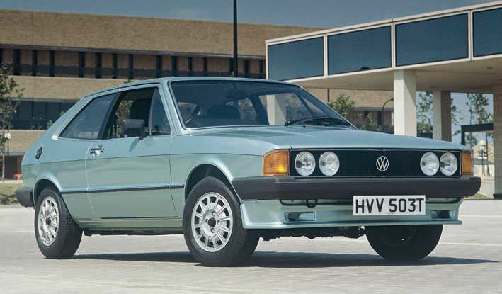 Volkswagen Blows Out Scirocco