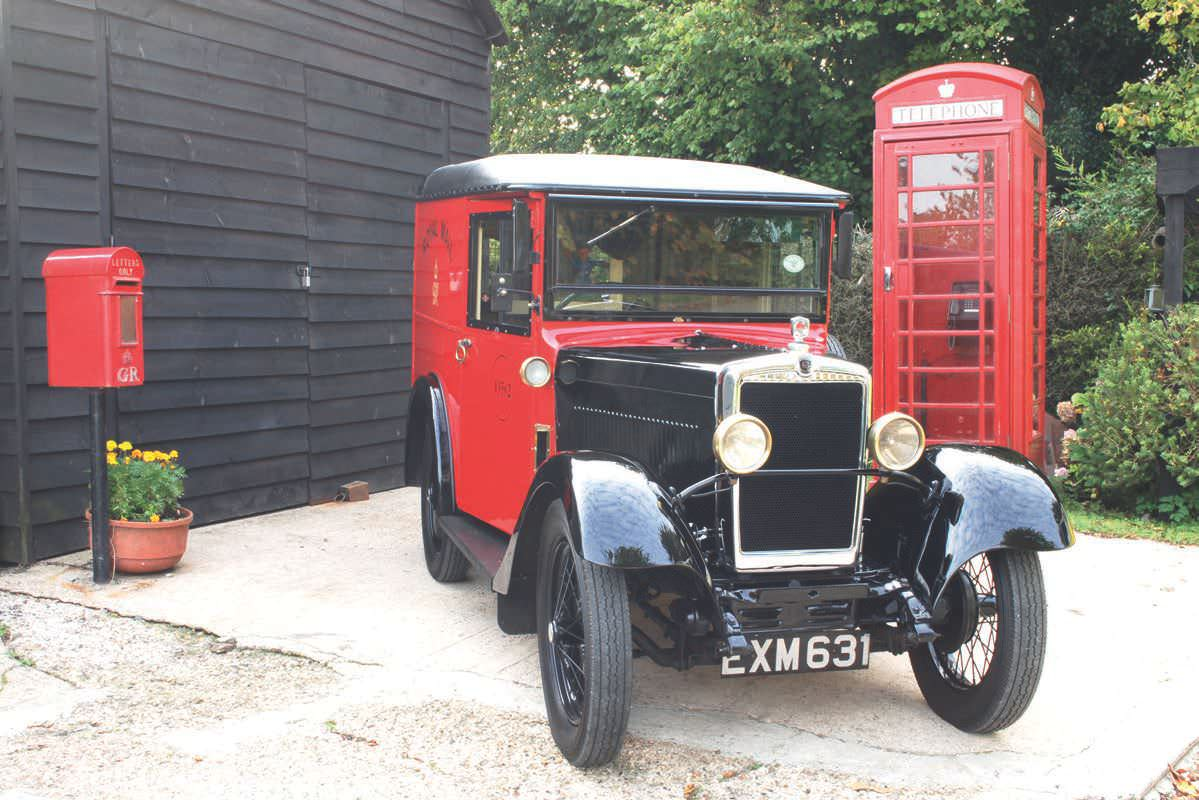 Pre- War Post Van