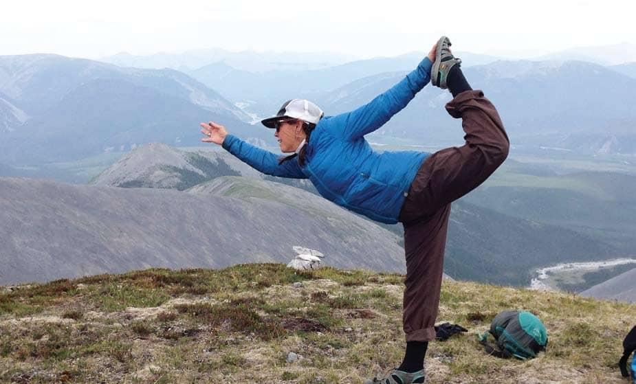 Yoga in the Yukon