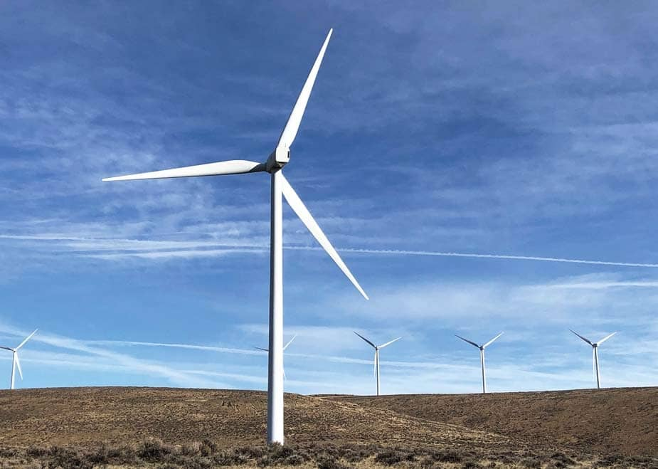 Harnessing the wind at Wild Horse